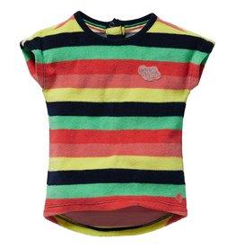 Quapi Quapi baby meisjes t-shirt badstof Gisa