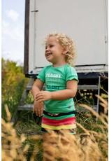 Quapi Quapi baby meisjes t-shirt Goldy Spring Green