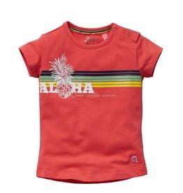 Quapi Quapi baby meisjes t-shirt Gracia Bright Coral