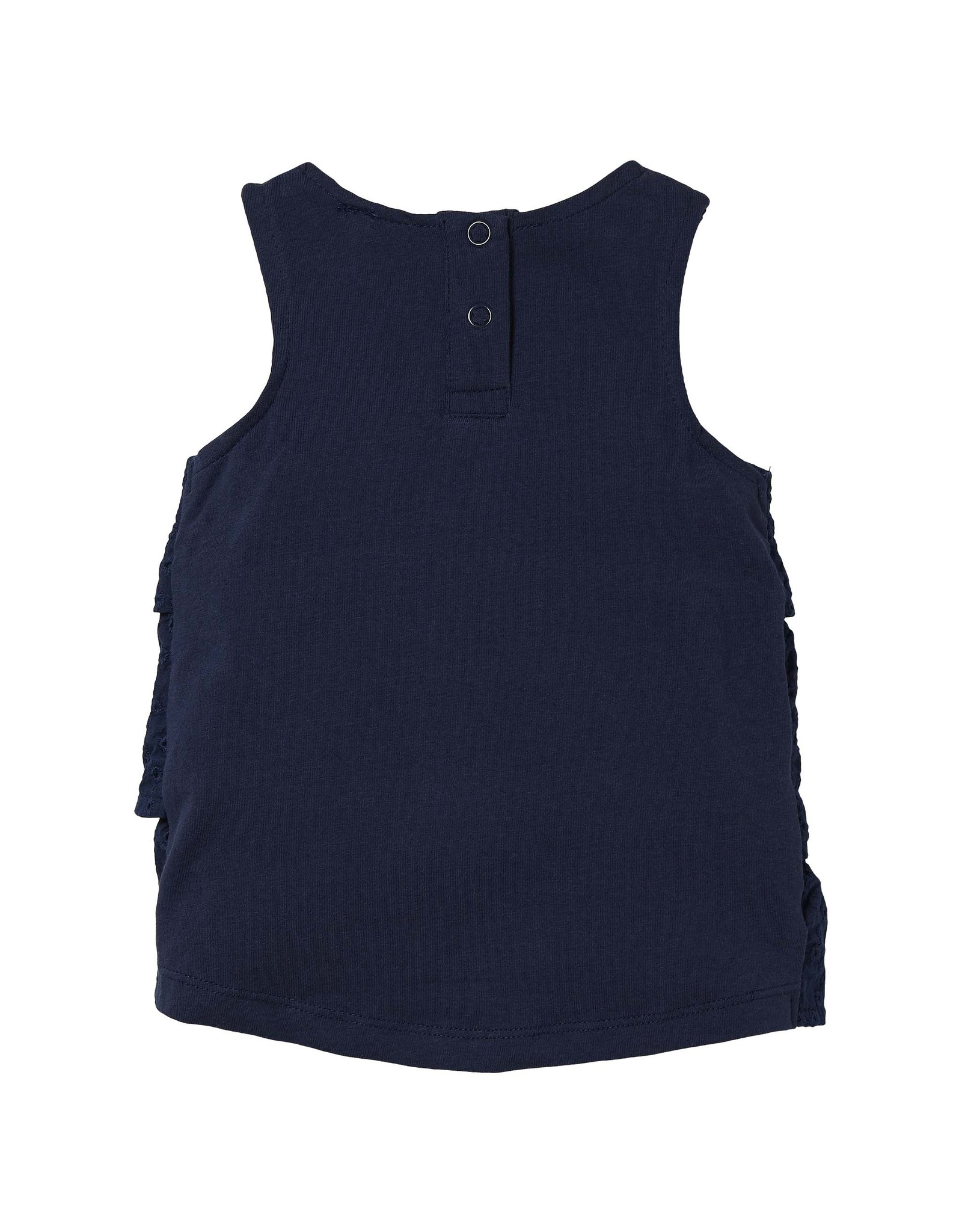 Quapi Quapi baby meisjes mouwloze jurk Grietje Dark Blue