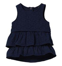 Quapi Quapi baby meisjes jurk Grietje Dark Blue