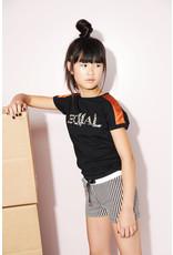 NoBell meiden t-shirt Kamy Jet Black S21