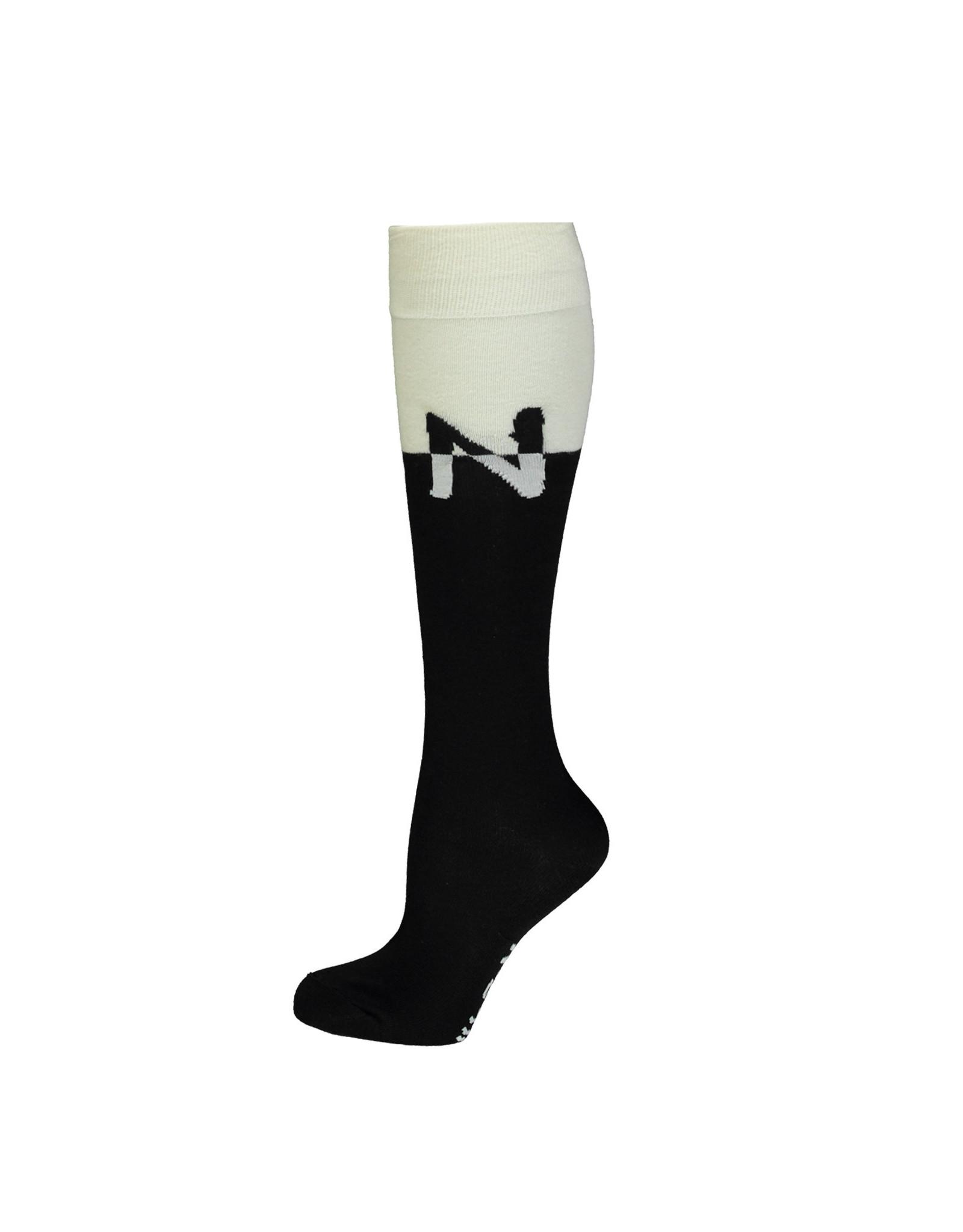 NoBell NoBell meiden sokken Roxy Jet Black