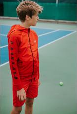 Bellaire Bellaire jongens korte joggingbroek Soram Red Clay