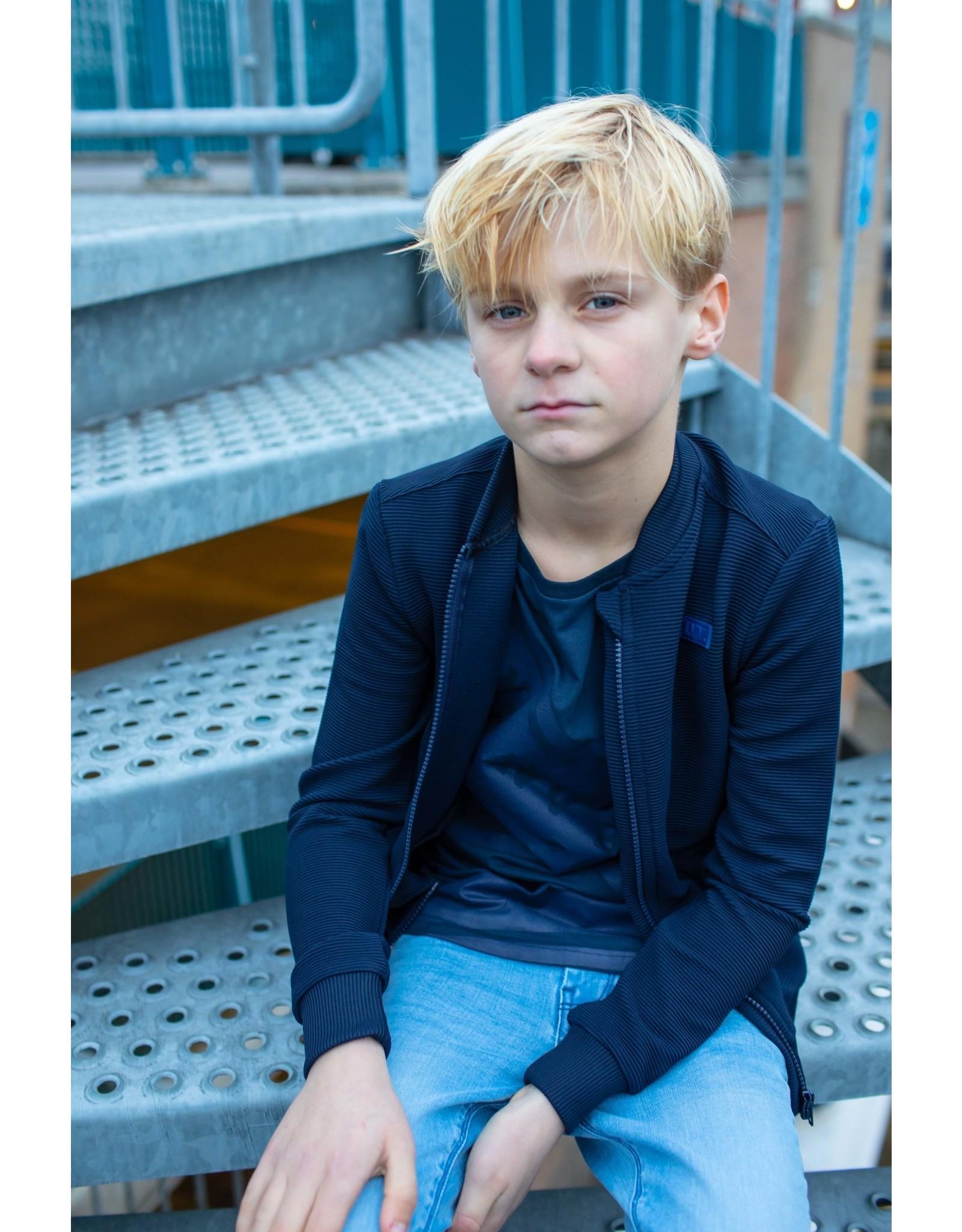 LEVV Levv jongens vest Moritz Dark Blue