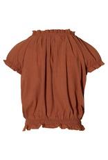 LEVV Levv meiden t-shirt Marina Rust