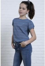 LEVV Levv meiden t-shirt Margot Mid Blue