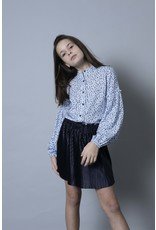 LEVV Levv meiden blouse Marisa Light Blue Dot