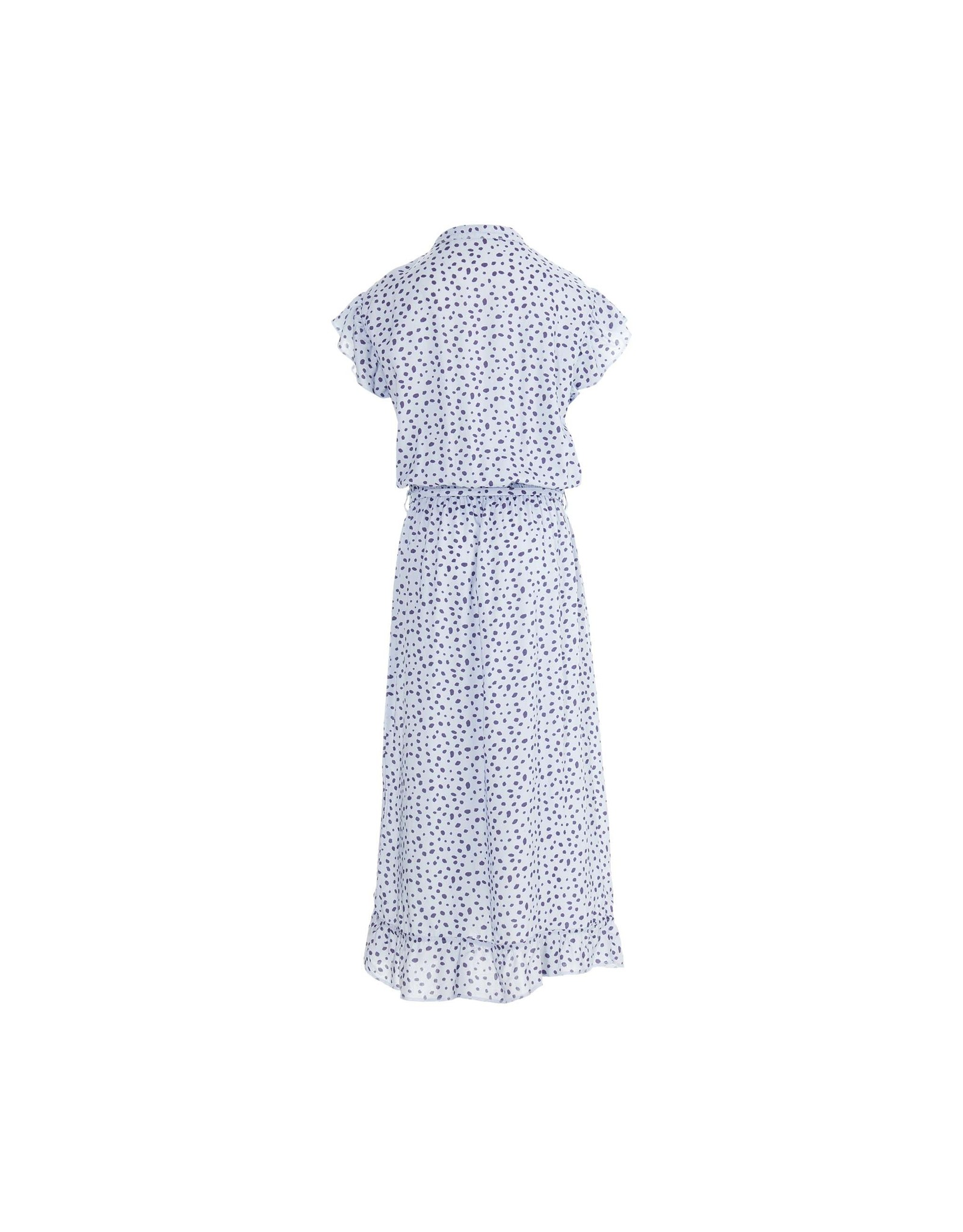 LEVV Levv meiden jurk Maegan Sky Blue Dot