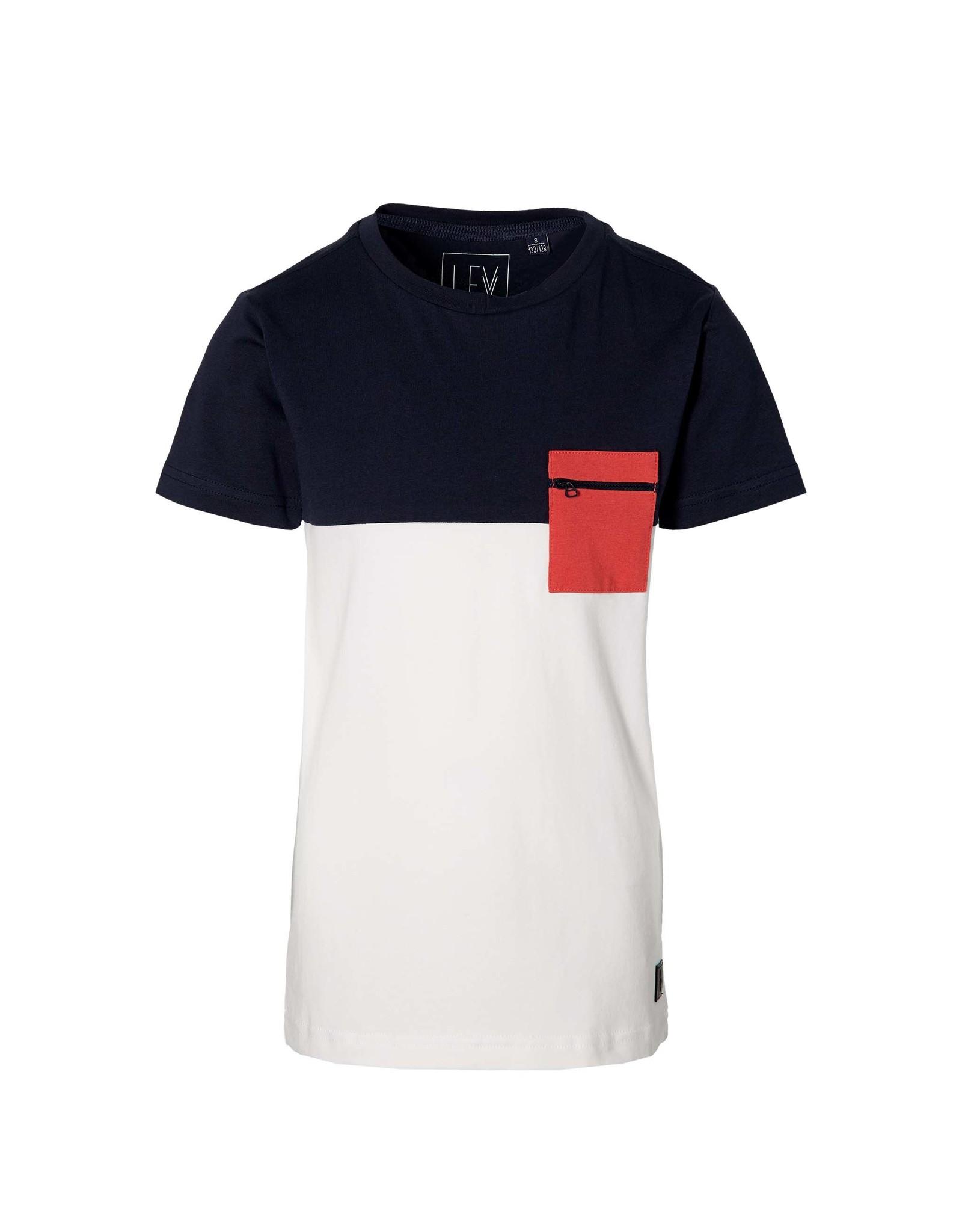 LEVV Levv jongens t-shirt Marlow Dark Blue