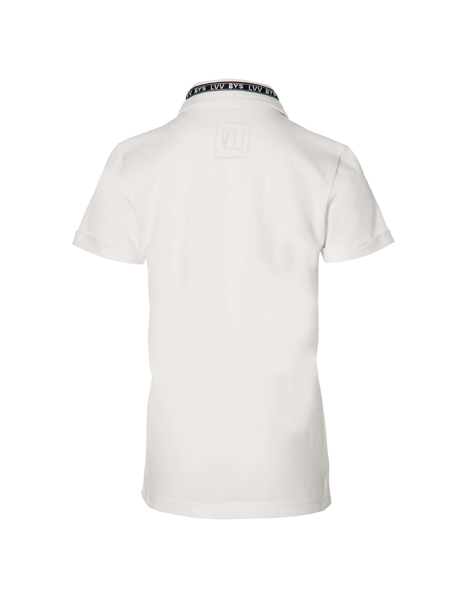 LEVV Levv jongens polo t-shirt Mauk White