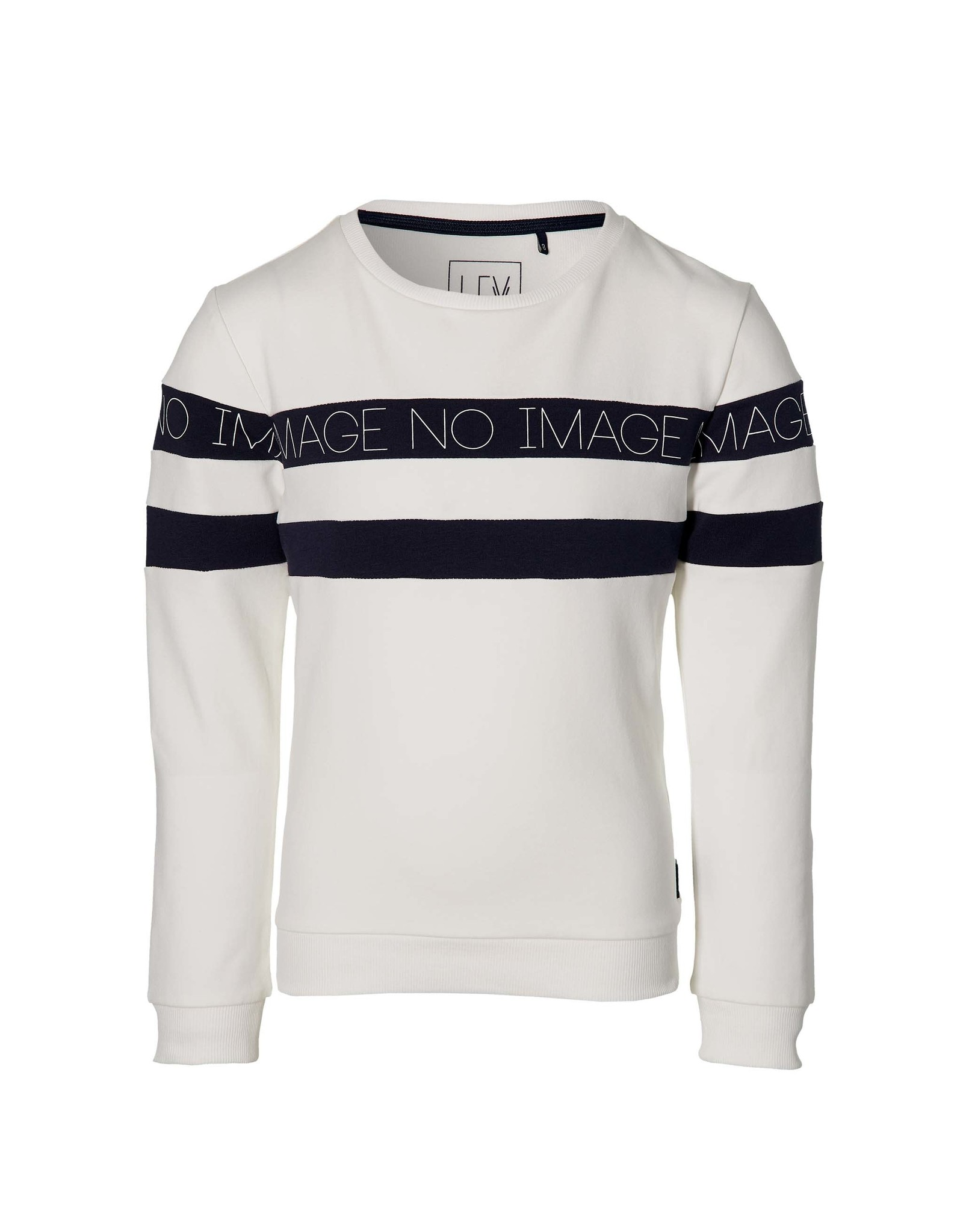 LEVV Levv jongens sweater Max White