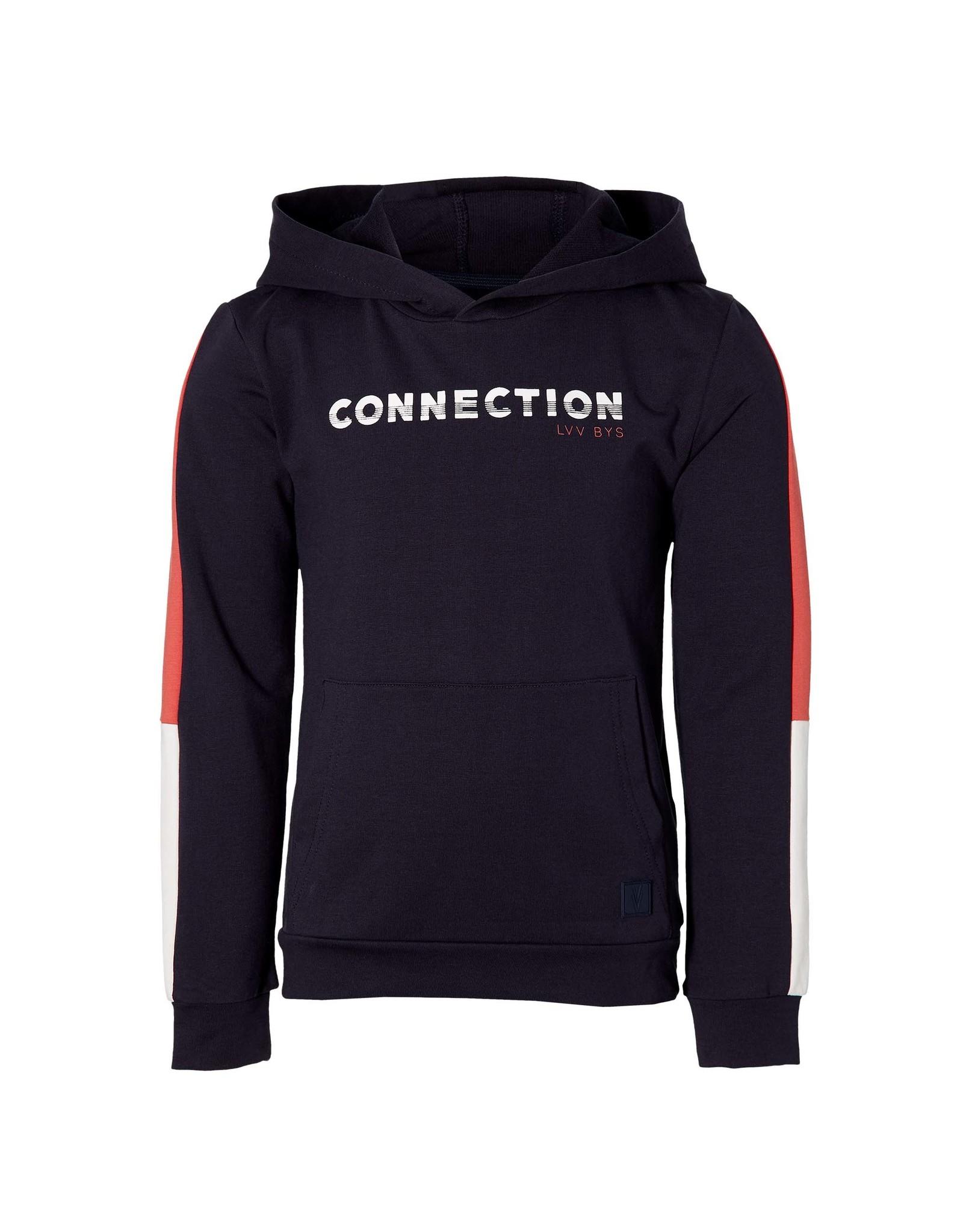 LEVV Levv jongens hoodie Mayzen Dark Blue