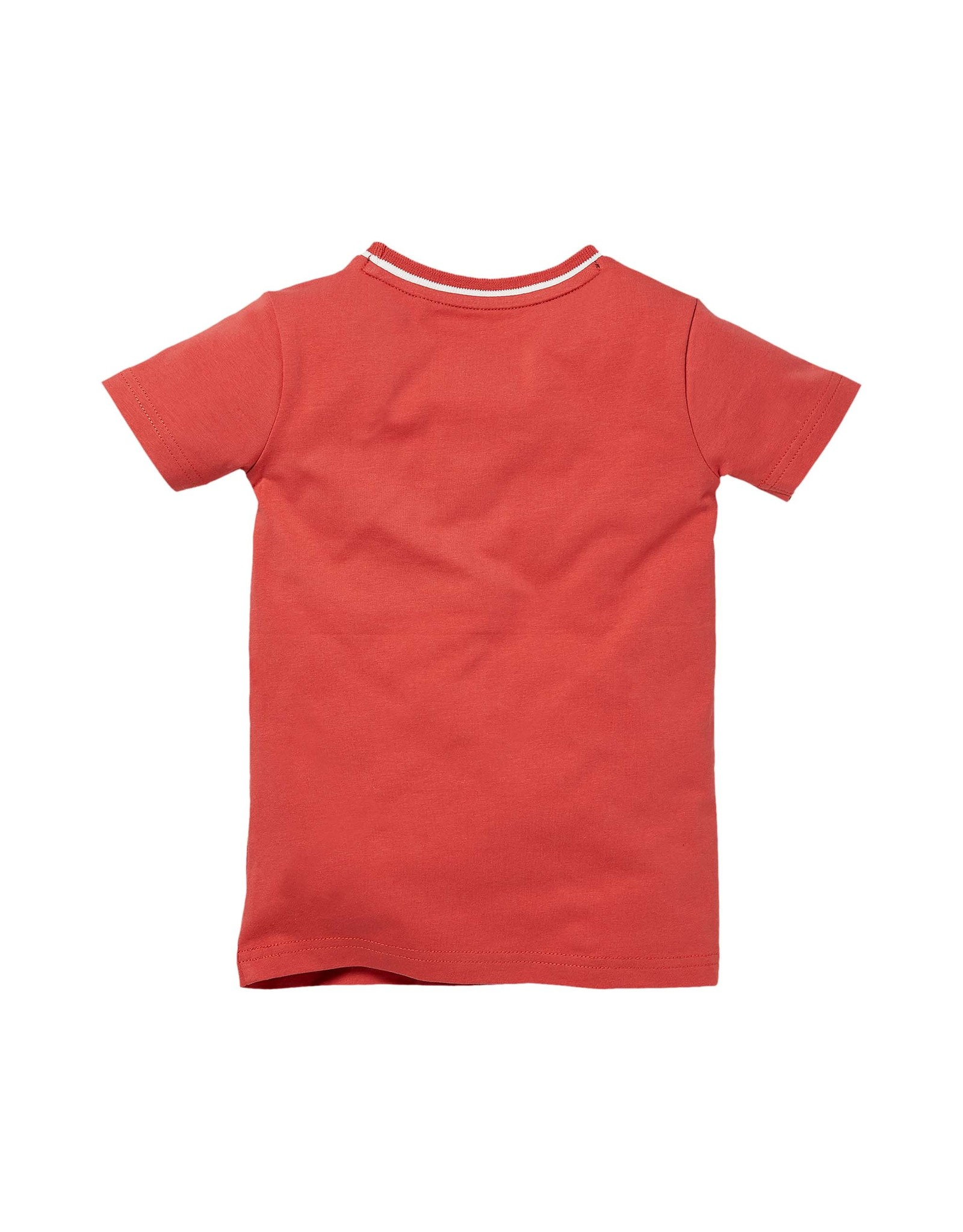 LEVV Levv jongens t-shirt Navaro Cranberry