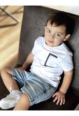 LEVV Levv jongens t-shirt Nemo White