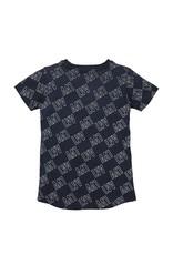 LEVV Levv jongens t-shirt Neymar Dark Blue White Tekst