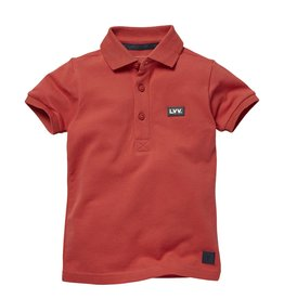 LEVV Levv jongens polo t-shirt Niam Cranberry