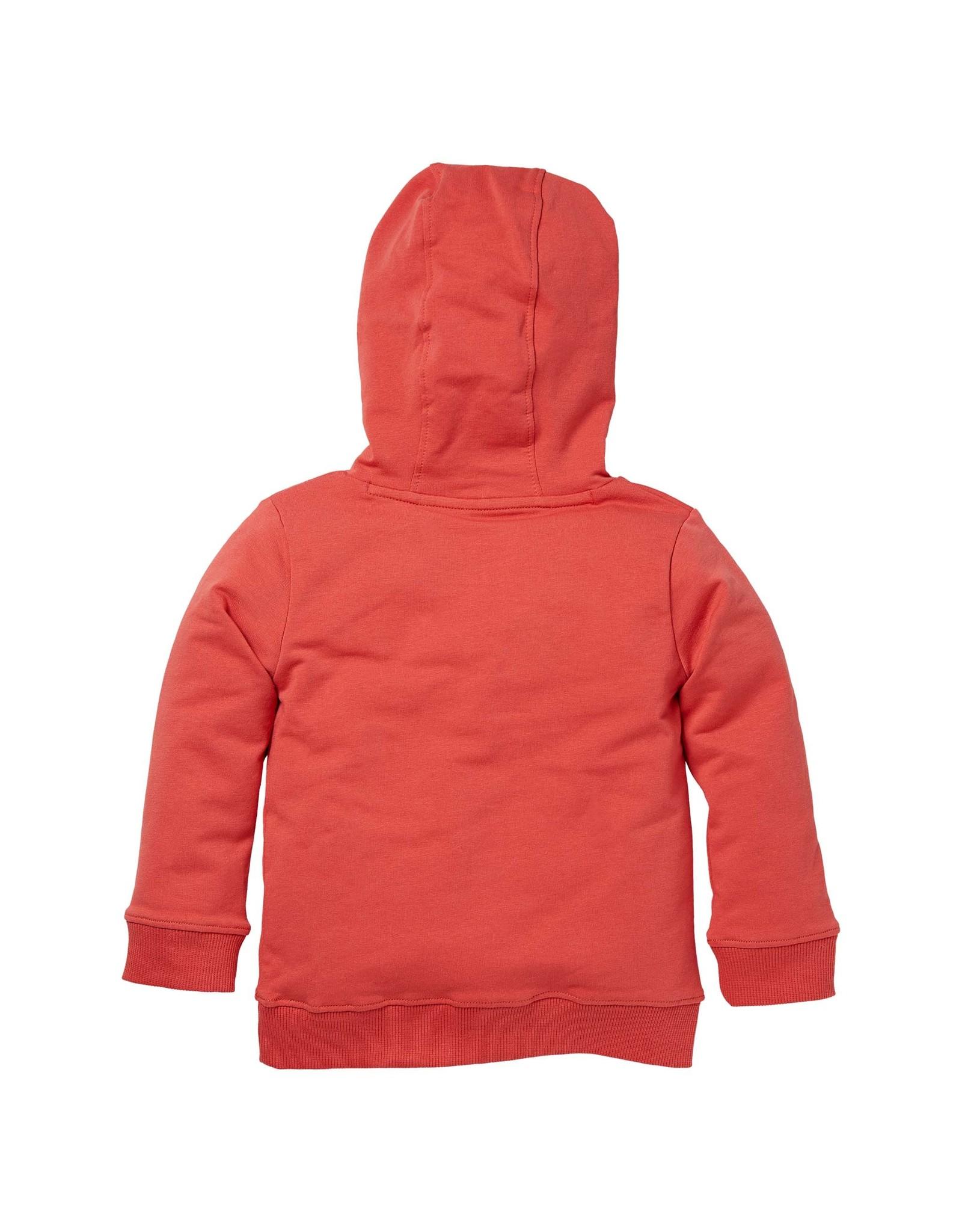 LEVV Levv jongens hoodie Nikai Cranberry