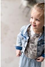 LEVV Levv meisjes t-shirt Nindy Steel Grey