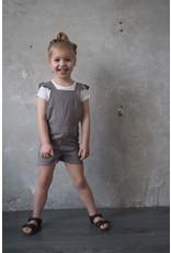 LEVV Levv meisjes salopette Noomi Steel Grey Stripe