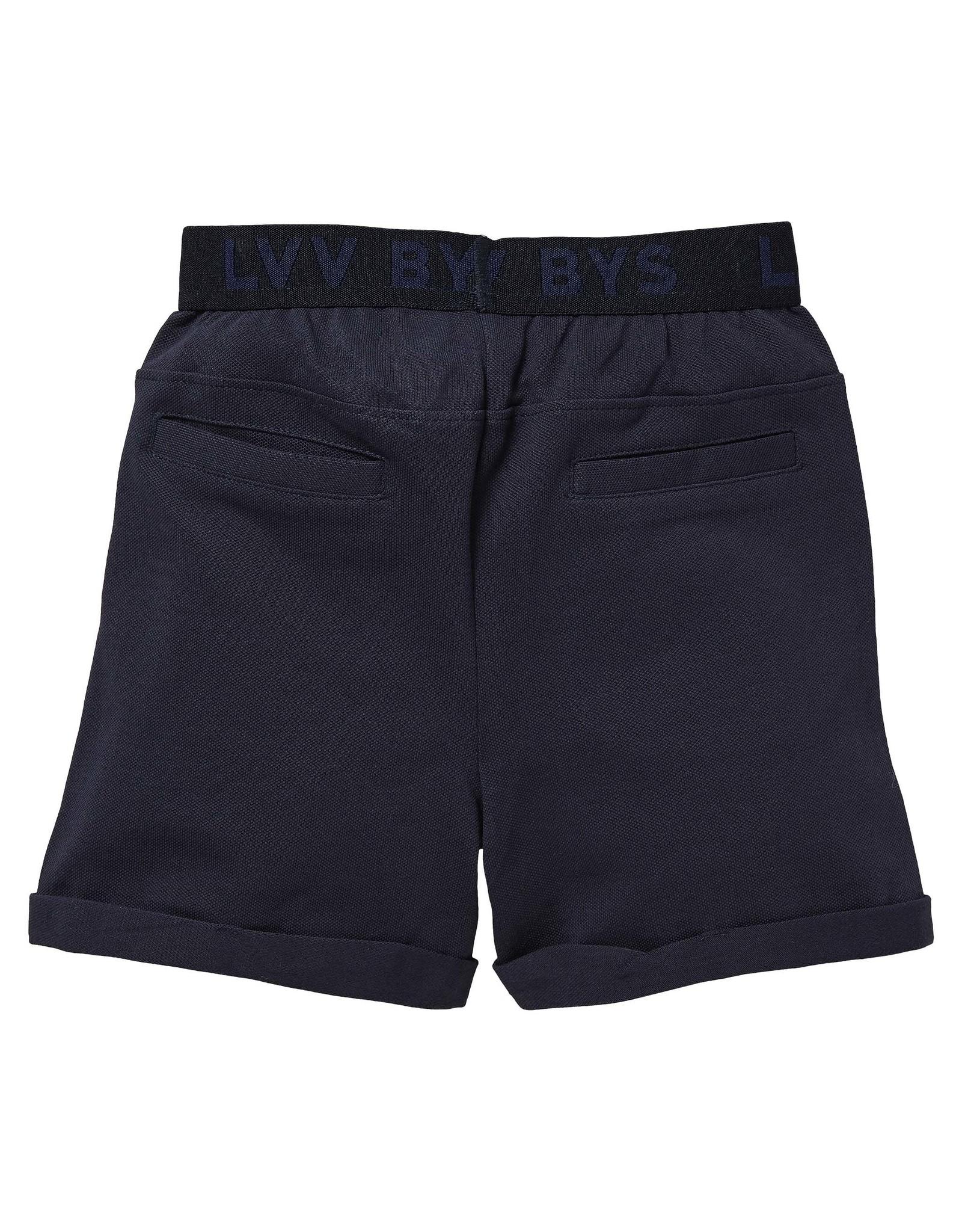 LEVV Levv jongens korte joggingbroek Noxx Dark Blue