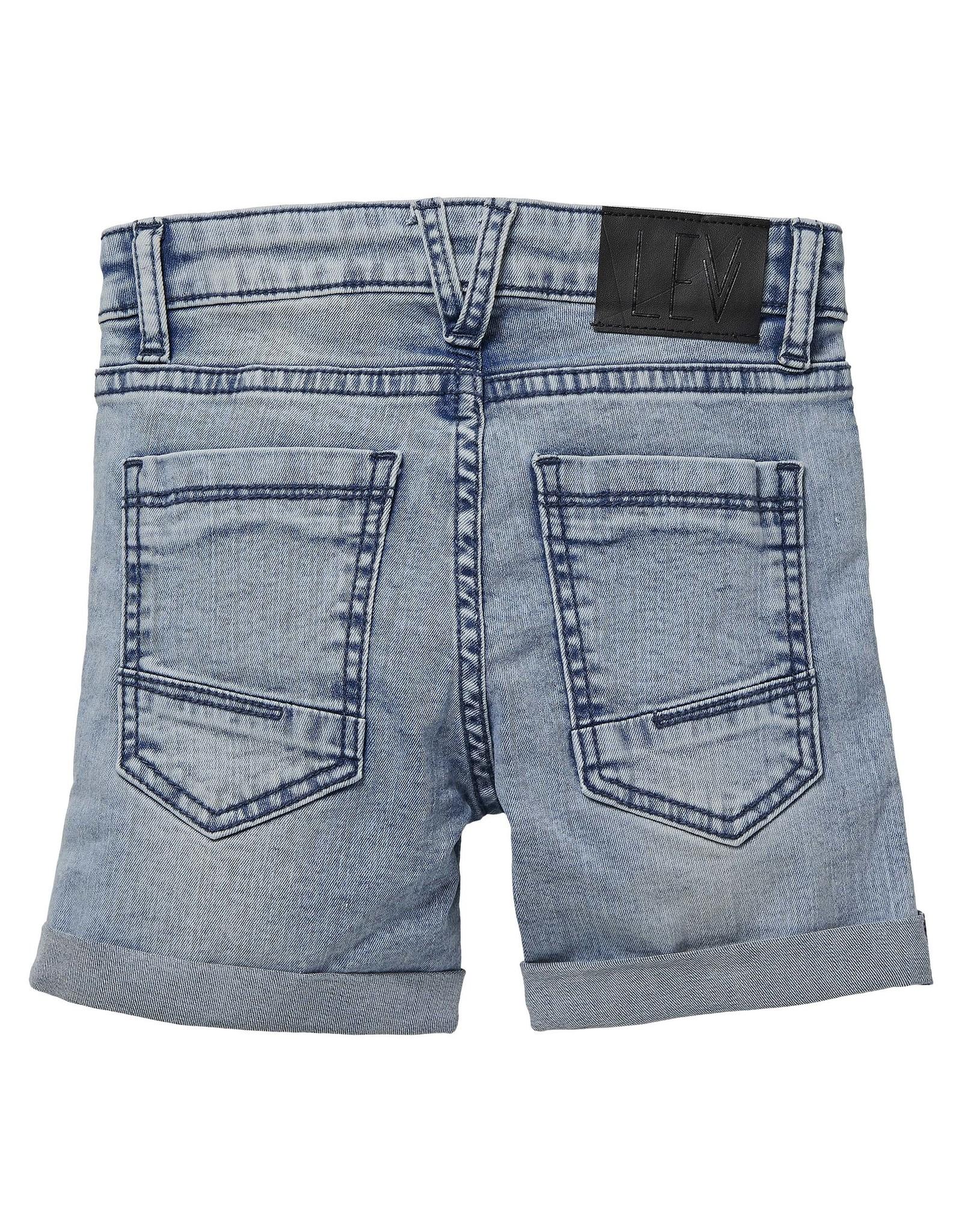 LEVV Levv jongens korte jeans Nuka Light Blue Denim