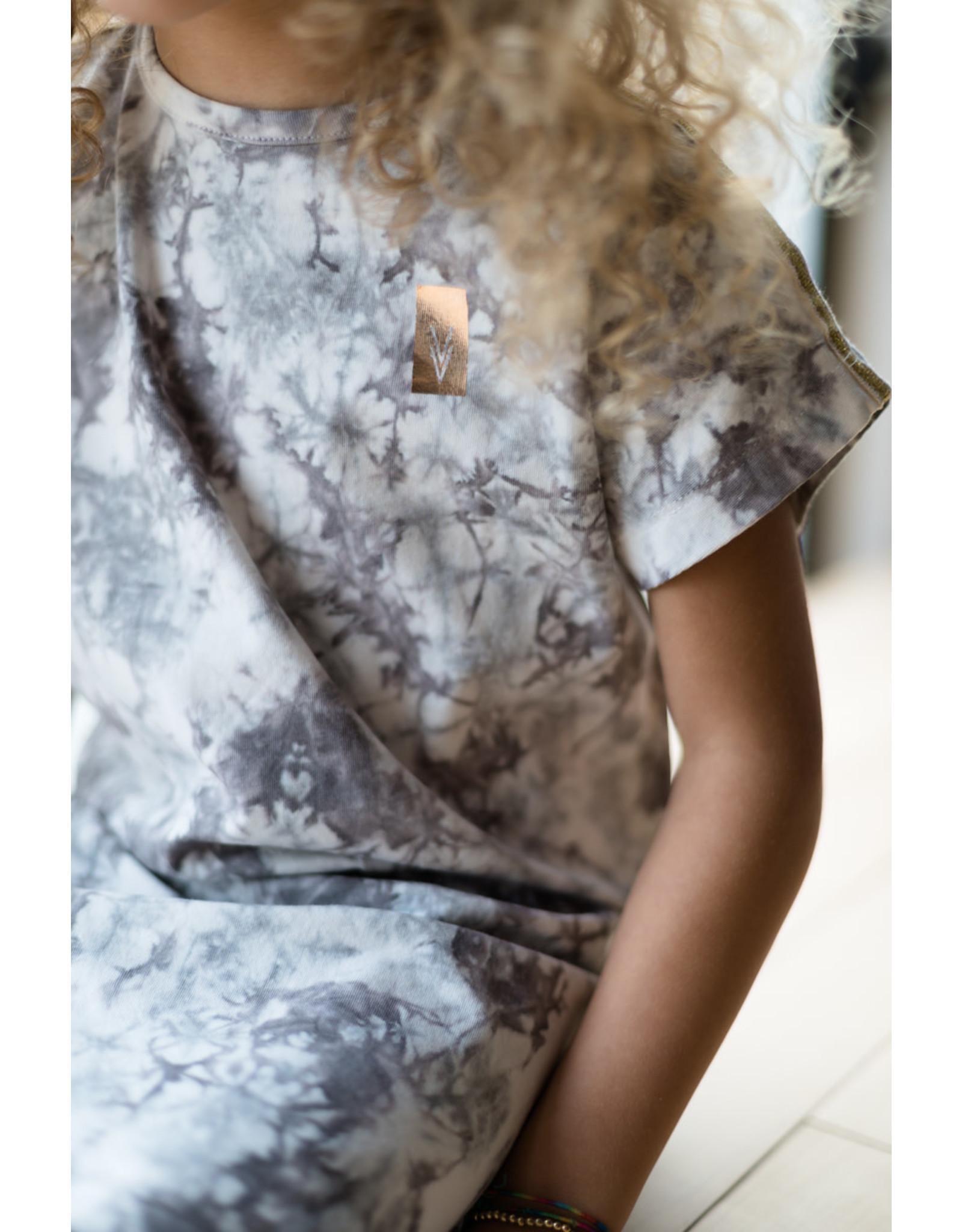 LEVV Levv meisjes jurk Nadja Steel Grey