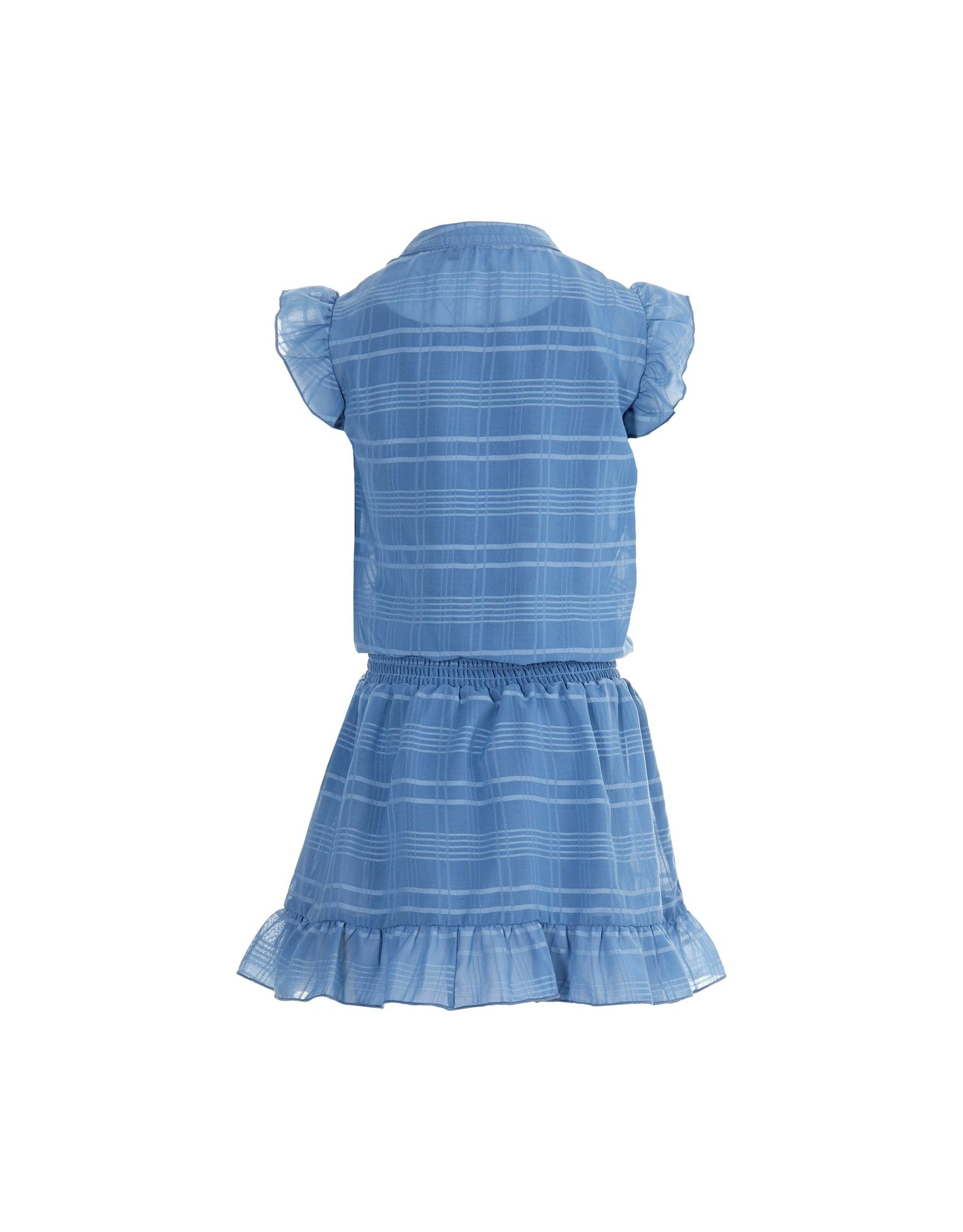 LEVV Levv meiden jurk Maddie Mid Blue