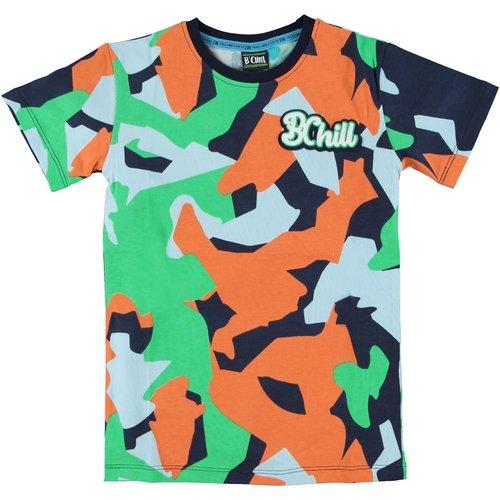 B'Chill B'Chill jongens t-shirt Pepijn Multi