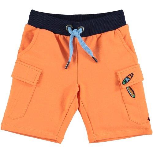 B'Chill B'Chill jongens korte joggingbroek Seb Orange