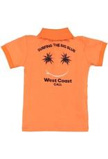 B'Chill B'Chill jongens polo t-shirt Xavi Orange