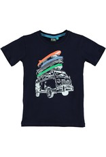 B'Chill B'Chill jongens t-shirt Shawn Navy