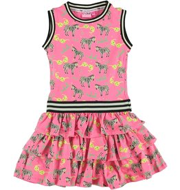 O'Chill O'Chill meiden mouwloze jurk Nikki Pink