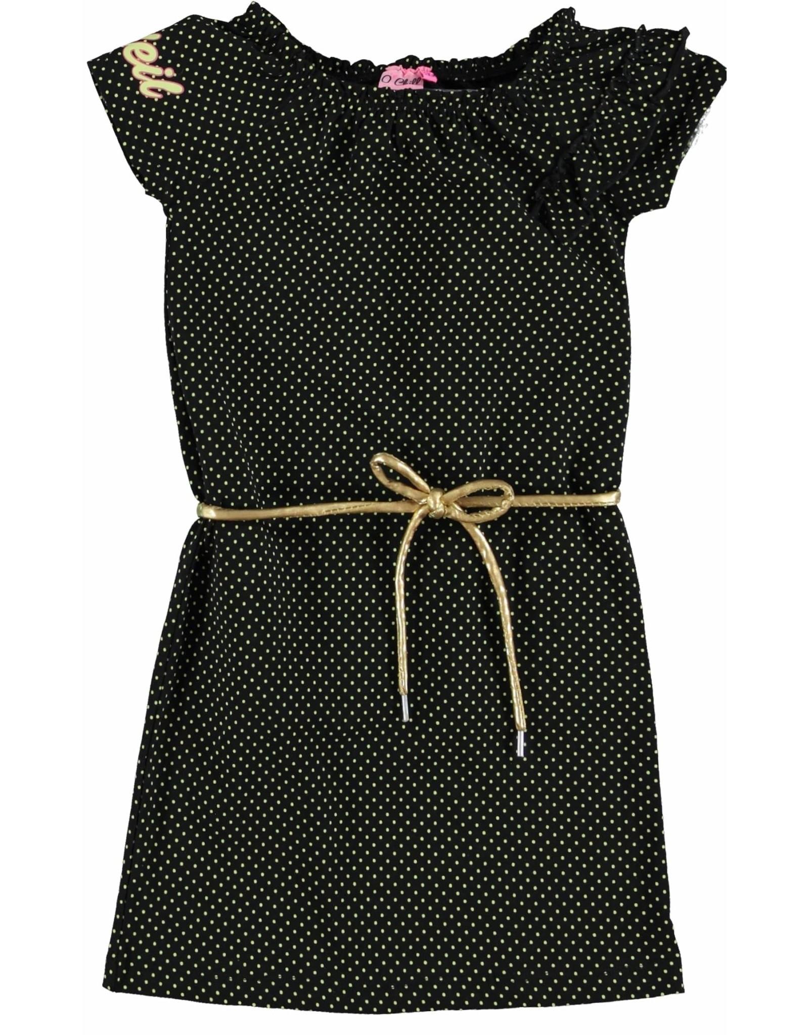 O'Chill O'Chill meiden jurk Quincy Black