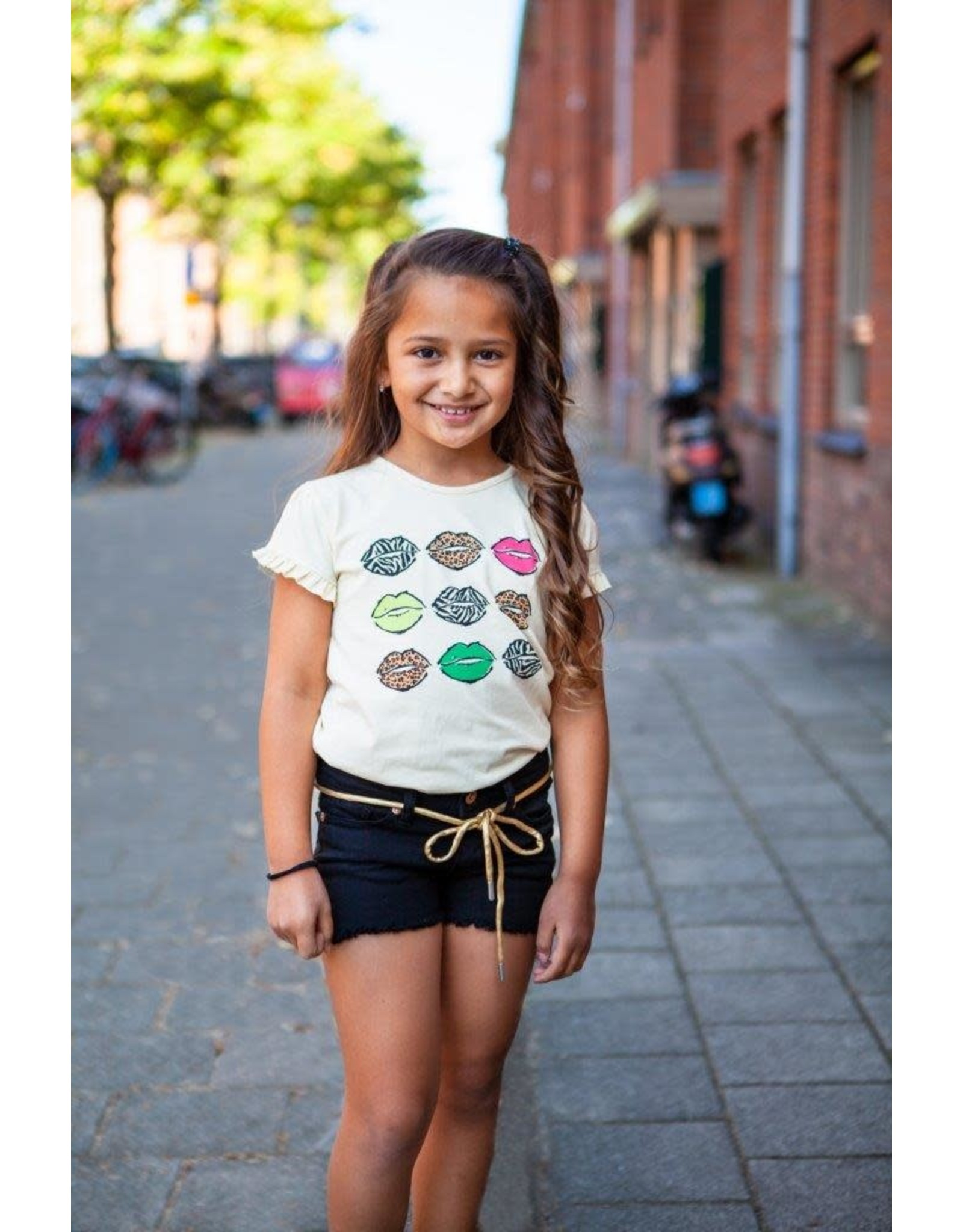 O'Chill O'Chill meiden t-shirt Wendelyn Off White