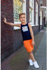 B'Chill B'Chill jongens korte joggingbroek Seb Orange