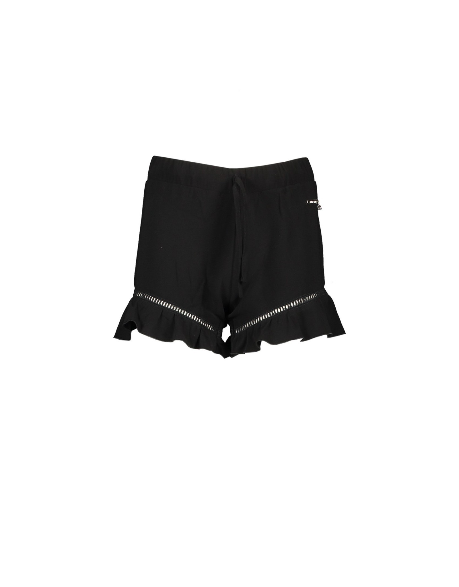 Elle Chic Elle Chic meiden korte broek Black Chic Stretch Crepe