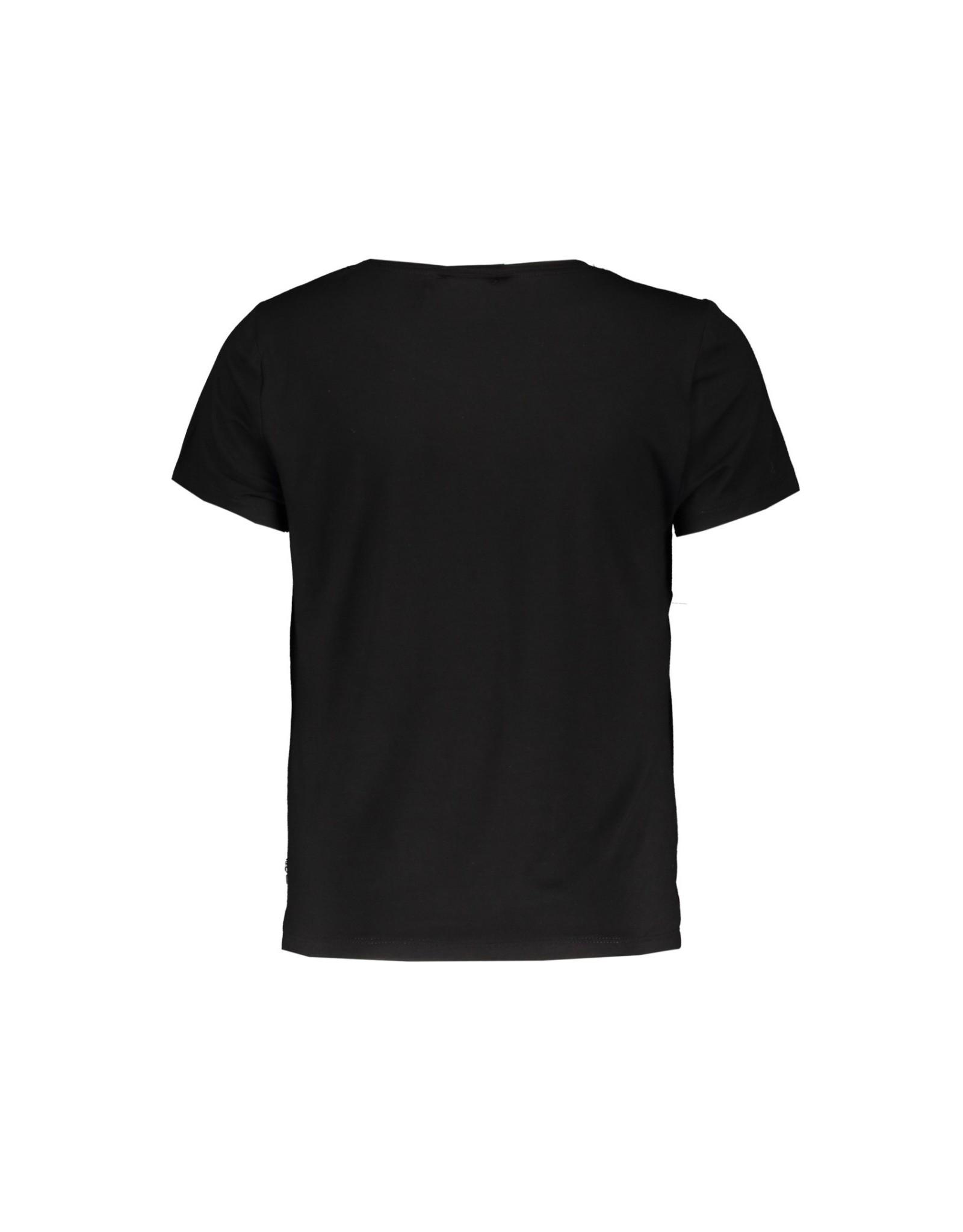 Elle Chic Elle Chic meiden t-shirt Black Sequins & Stones