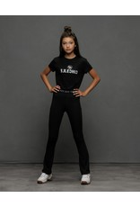 Elle Chic Elle Chic meiden boxy t-shirt Black Print