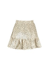 Elle Chic Elle Chic meiden rok Being Beige Leopard Dots
