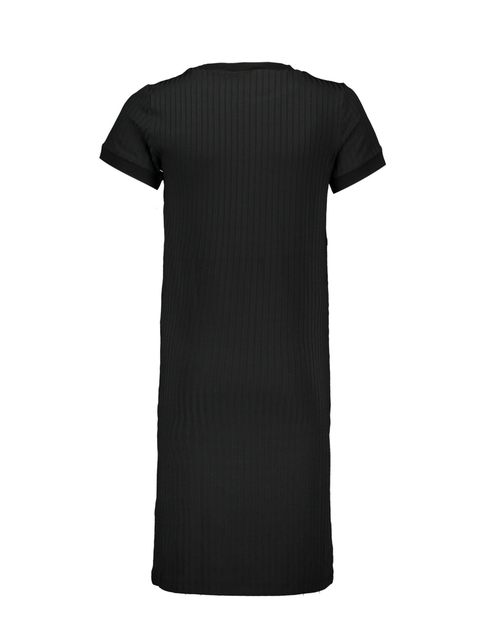 Elle Chic Elle Chic meiden jurk Black Mono Stripe