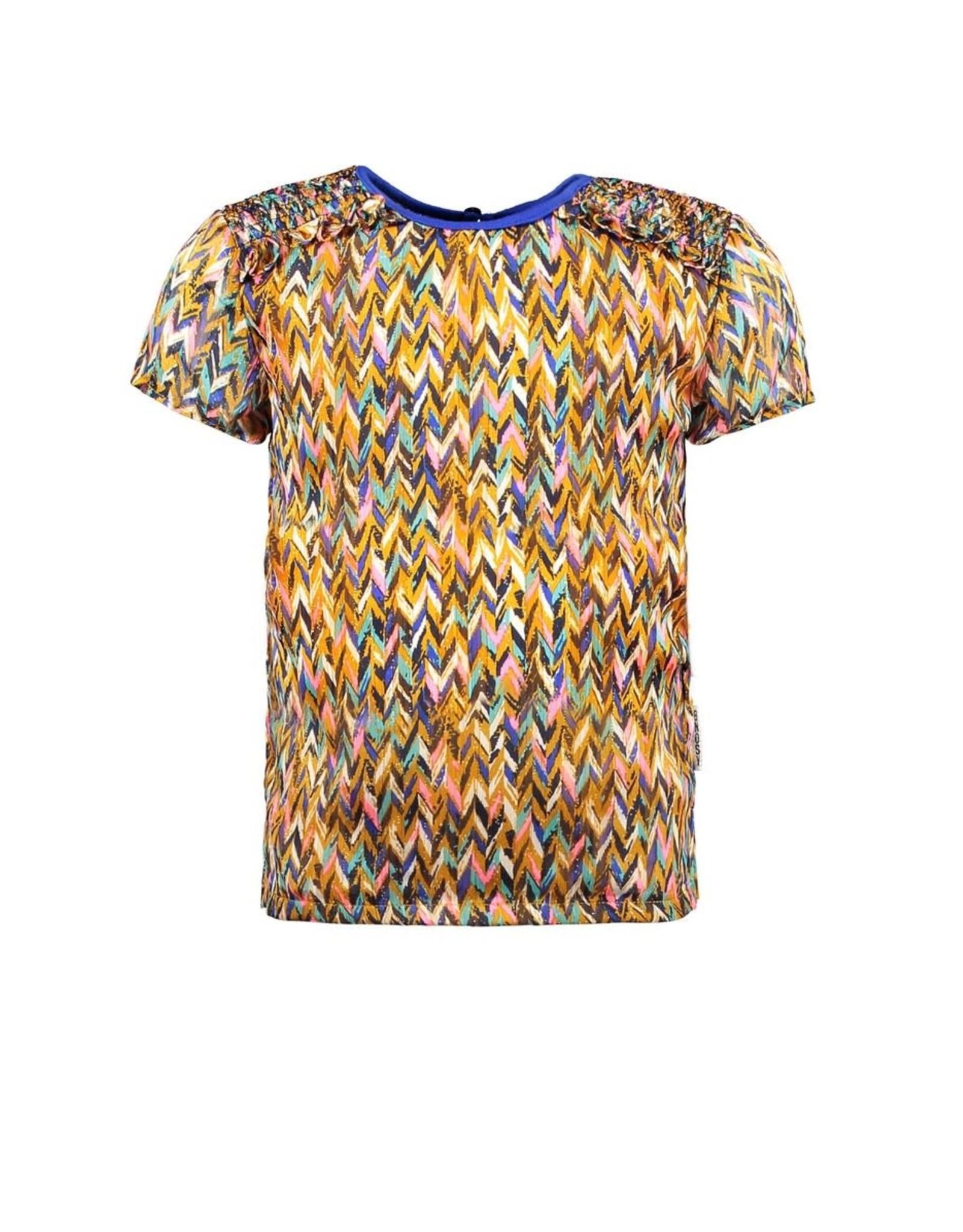 B.Nosy B.Nosy meisjes t-shirt Curious ao