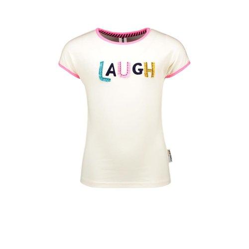 B.Nosy B.Nosy meisjes t-shirt Laugh Cotton