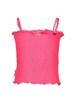 B.Nosy B.Noys meisjes gesmokt topje Knock Out Pink