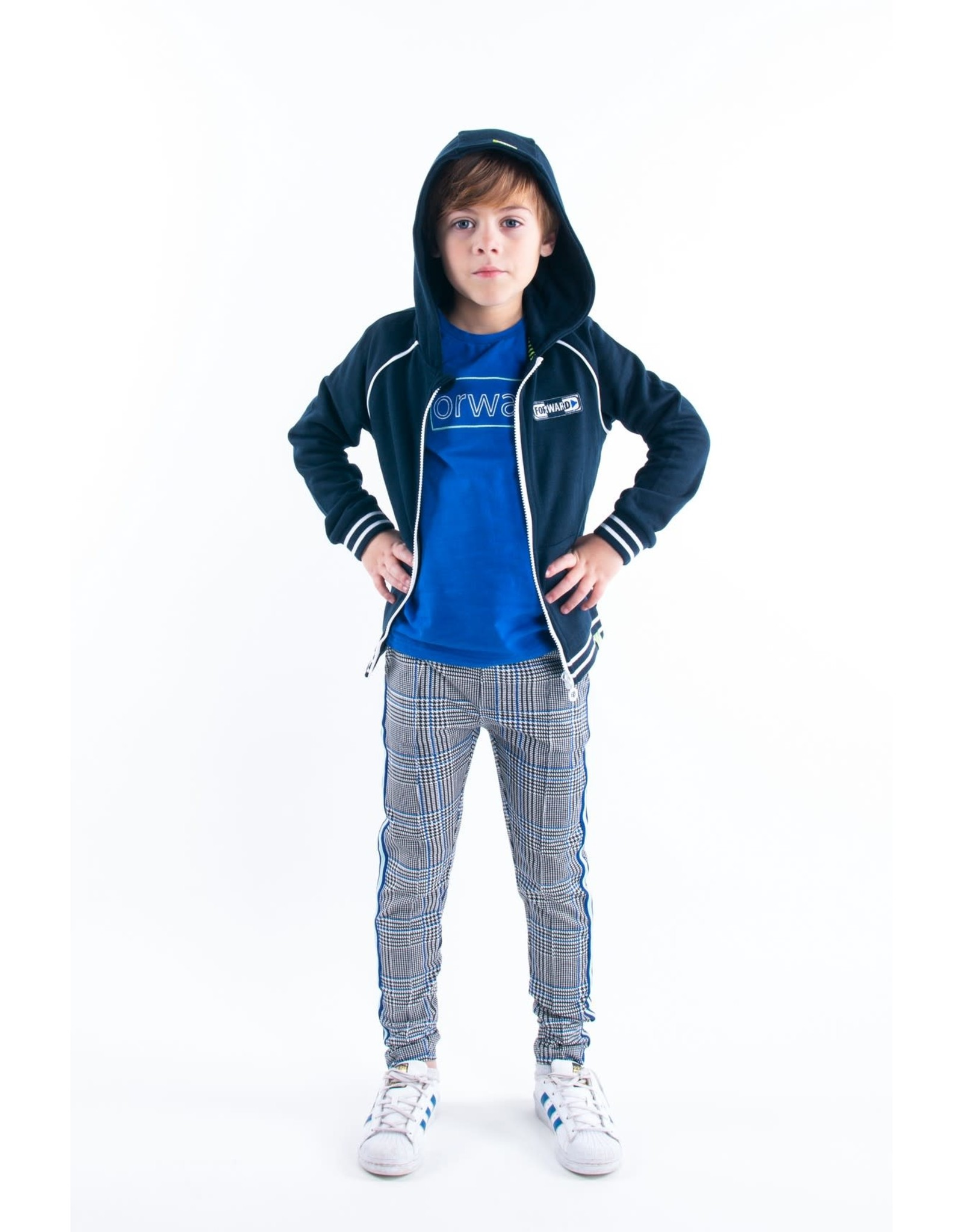 B.Nosy B.Nosy jongens vest Forward Oxford Blue