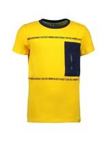 B.Nosy B.Nosy jongens t-shirt Be A Winner Lemon Chrome