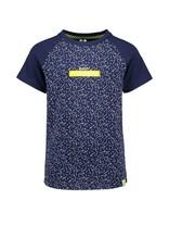 B.Nosy B.Nosy jongens t-shirt Kris Kras Space Blue