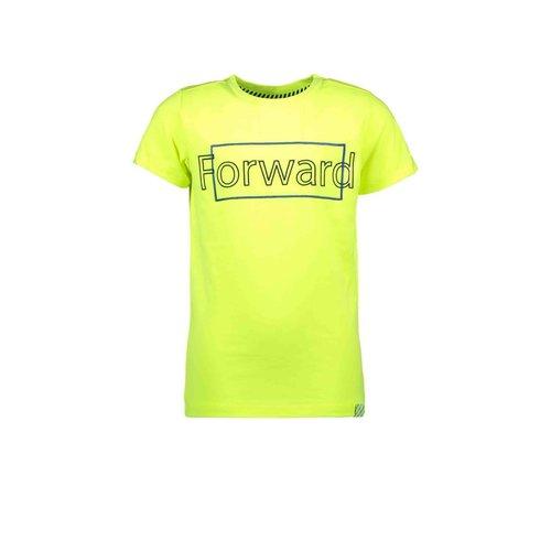 B.Nosy B.Nosy jongens t-shirt Forward Safety Yellow