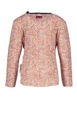B.Nosy B.Nosy baby meisjes shirt Weekend Mix Zebra