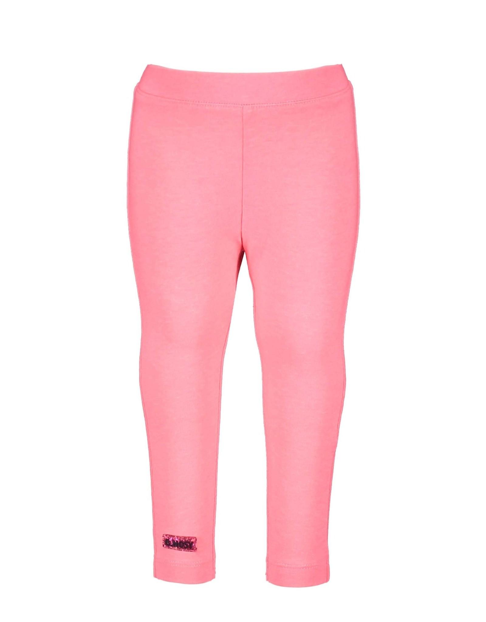 B.Nosy B.Nosy baby meisjes legging Space Festival Pink S21